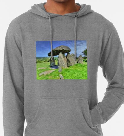 Ancient Burial Chamber in Mid - North Wales (UK) Lightweight Hoodie