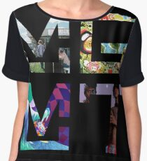 MGMT Albums Women's Chiffon Top