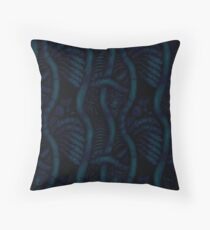 Living Tissue Pattern Throw Pillow