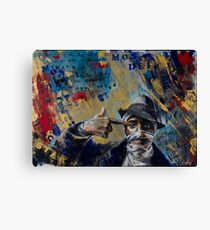 Mos Def Tribute Canvas Print