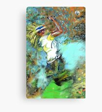 Rocking The Fairways Canvas Print