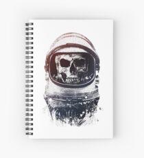 Schädel Astronaut Spiralblock