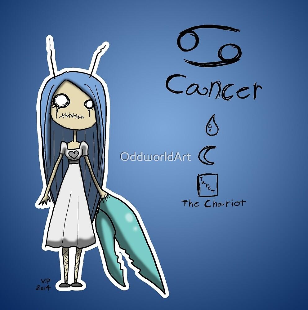 Astrology - Cancer by OddworldArt