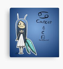 Astrology - Cancer Canvas Print