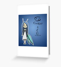 Astrology - Cancer Greeting Card