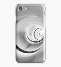 Sewer tunnel perspective photography iPhone Case/Skin