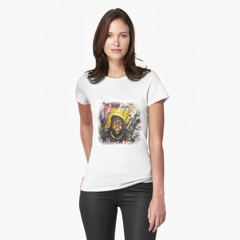 Biggie Tribute Womens T-Shirt Front
