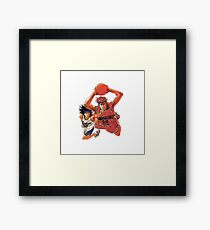 Sakuragi VS Nobunaga - Slam Dunk Framed Print