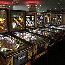 Riviera Pinball Museum by urbanphotos