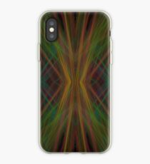 Abstract Triangles Black Green Blue iPhone Case