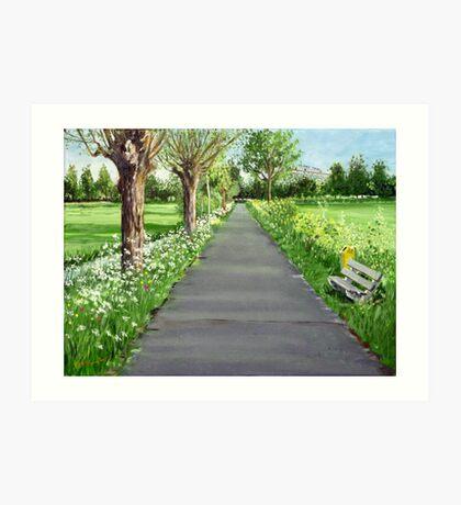 The little lane to my love Art Print