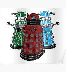 Daleks Poster