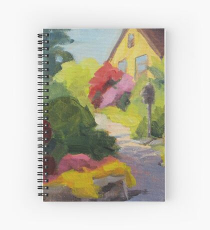 Garden Path - Daily Painting Spiral Notebook
