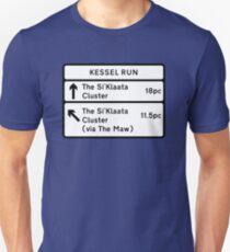 Kessel Run Schmuggler Zeichen Unisex T-Shirt
