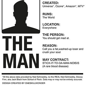 THE MAN by oneskillwonder