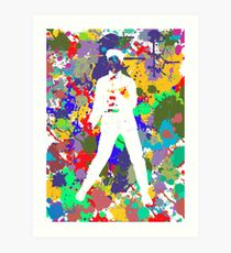 Colours to the King (Elvis Presley) 5 Art Print