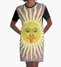 Sun Man Lads Graphic T-Shirt Dress
