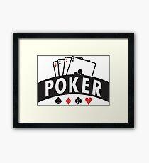 Poker Framed Print