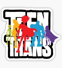 Teen Titans Sticker