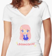 LDShadowlady~ Women's Fitted V-Neck T-Shirt