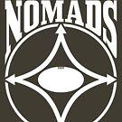 Nomads shield, full chest, white, borderless variation by nomads