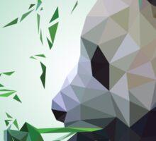 Polygon Panda Sticker