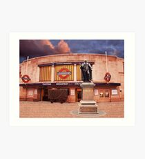 Tooting Broadway Station, SW17, London Art Print