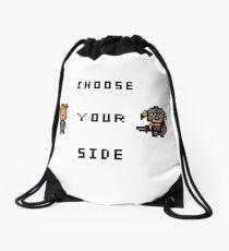 Choose Your Side Drawstring Bag