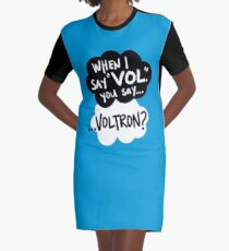 The Fault in Our Keith Graphic T-Shirt Dress