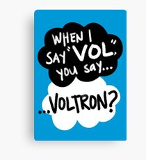 The Fault in Our Keith Canvas Print