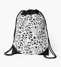 Weird Science! Drawstring Bag