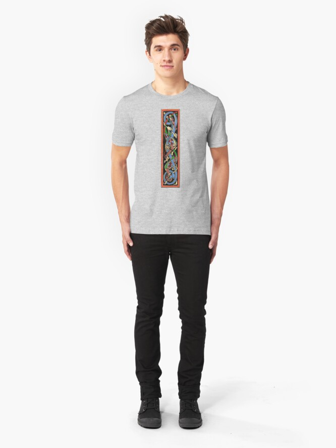 Alternate view of Hound and Hawks  Slim Fit T-Shirt