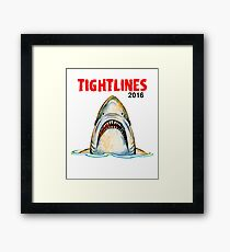 Tight Lines 2016 Framed Print