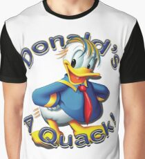 "Anti Trump ""Donald's A Quack"" Graphic T-Shirt"