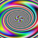 rainbow whirlpool by Pat Heddles