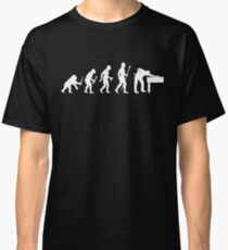 Evolution Of 8 Ball Funny Billiards T Shirt Classic T-Shirt