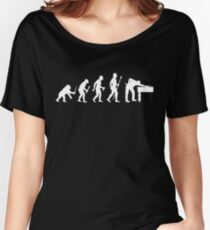 Evolution Of 8 Ball Funny Billiards T Shirt Women's Relaxed Fit T-Shirt
