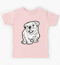 Happy Bulldog Puppy  Kids Clothes
