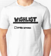 Kanye West Yeezus Wishlist Unisex T-Shirt