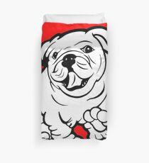 Happy Bulldog Puppy  Duvet Cover