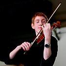 violinist by Pat Heddles