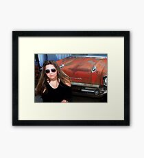 CAR MODEL Framed Print