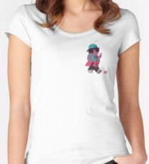 Walkin' the Dog Women's Fitted Scoop T-Shirt