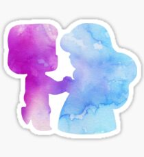 Ruby and Sapphire  Sticker