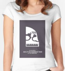 Guilty as Charged - Klavier Women's Fitted Scoop T-Shirt