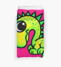 Green Dinosaur  Duvet Cover