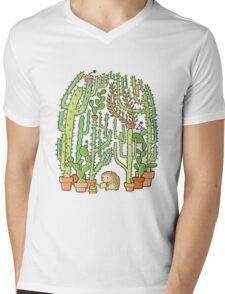 hedgehog cacti Mens V-Neck T-Shirt