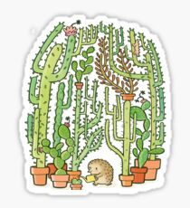 hedgehog cacti Sticker