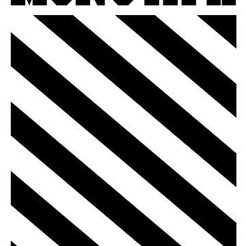 Monsta X Off-White Inspired Logo 2 by PaolaAzeneth