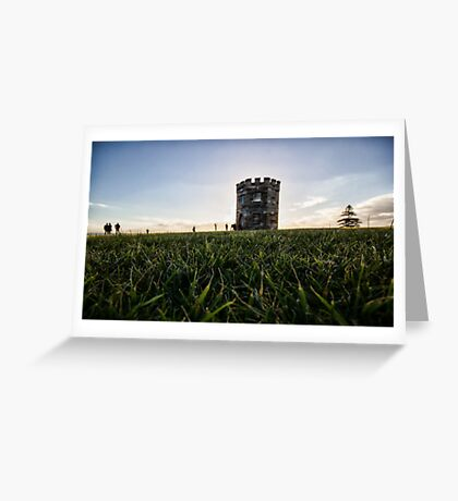 La Perouse Castle Greeting Card